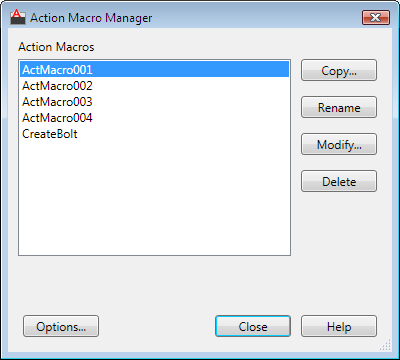 Action Macro Manager